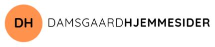 Damsgaardhjemmesider logo